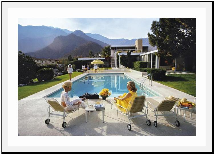 SLIM AARONS Poolside Glamour