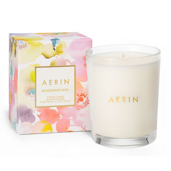AERIN Monserrate Rose Candle