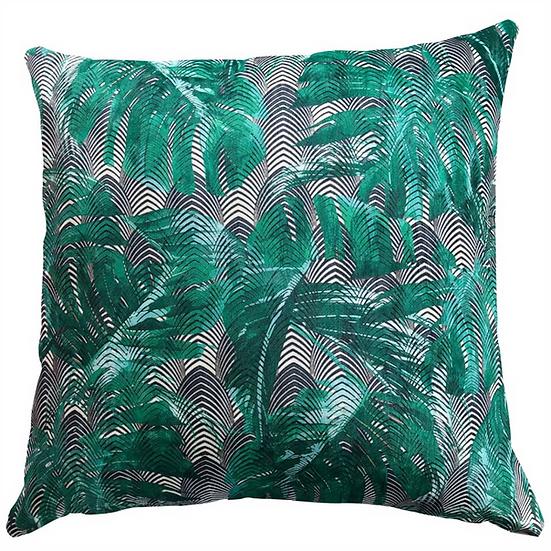 Cushion, Monstera Green