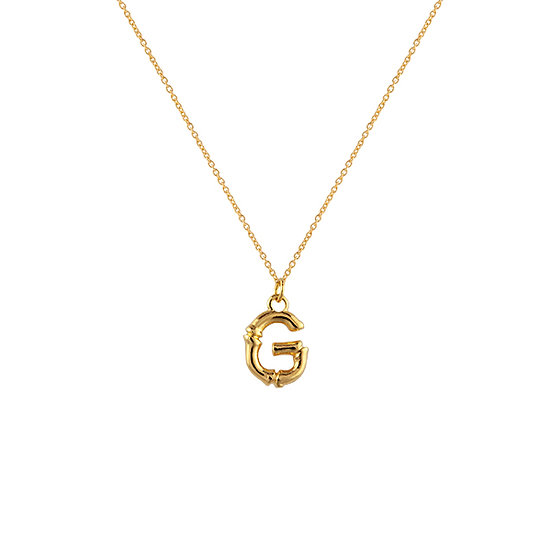 """""""G"""" Initial Pendant Necklace"""