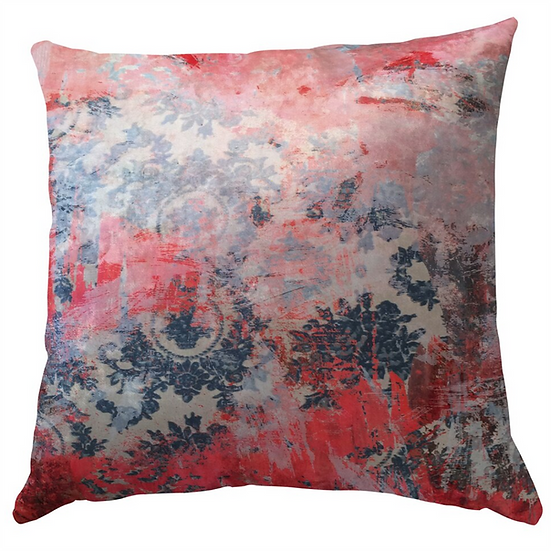 Cushion, Distressed Pink
