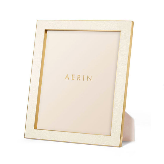 AERIN Classic Shagreen 8x10 Frame, Cream