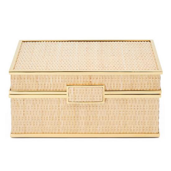 AERIN Colette Cane Jewellery Box