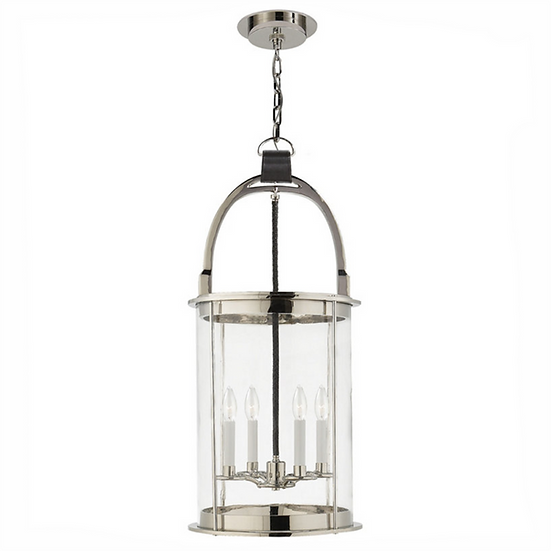 RALPH LAUREN Westbury Lantern, Polished Nickel