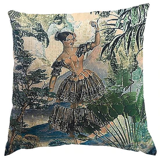Cushion, Garden Stroll