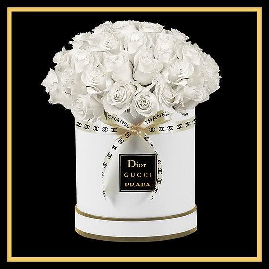 """""""White Bouquet"""" Framed Wall Art"""