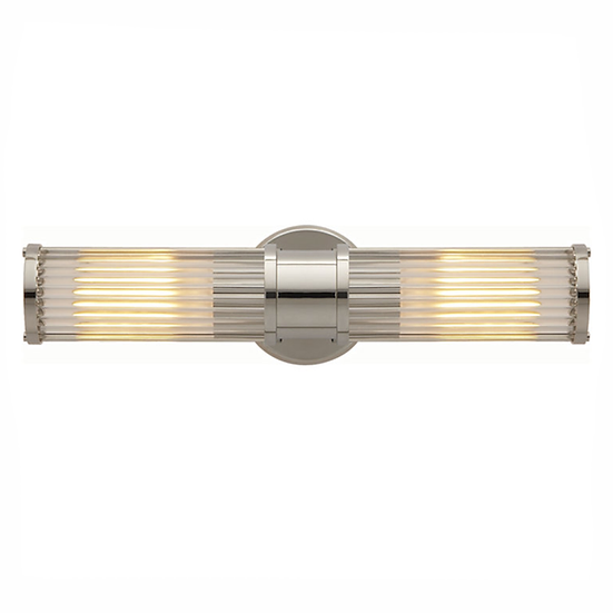 RALPH LAUREN Allen Double Sconce, Polished Nickel