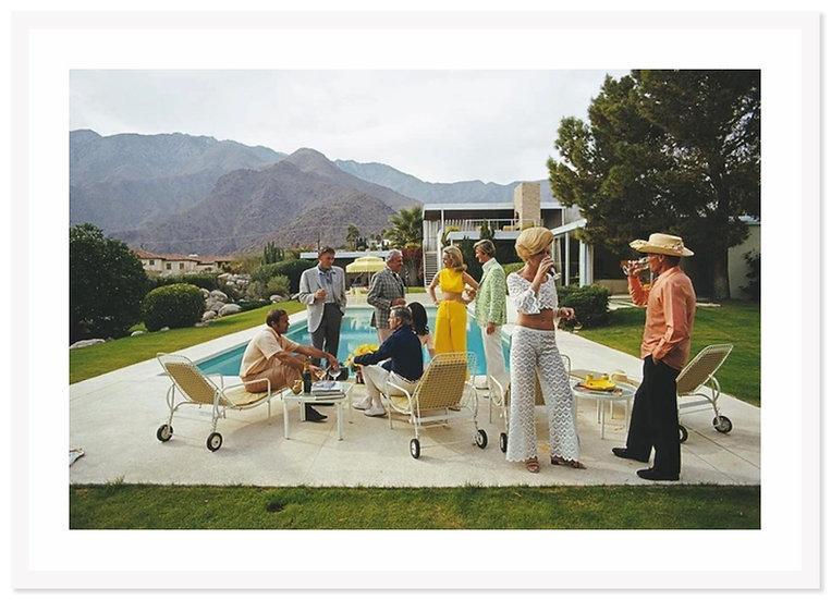 SLIM AARONS Desert House Party