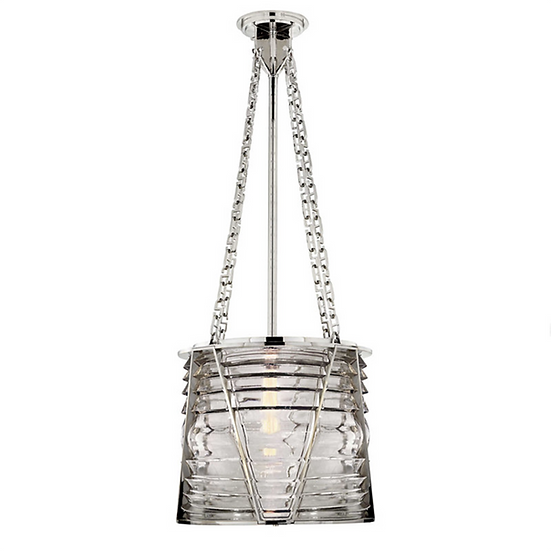 RALPH LAUREN Chatham Pendant Large, Polished Nickel