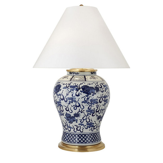 RALPH LAUREN Foo Dog Table Lamp