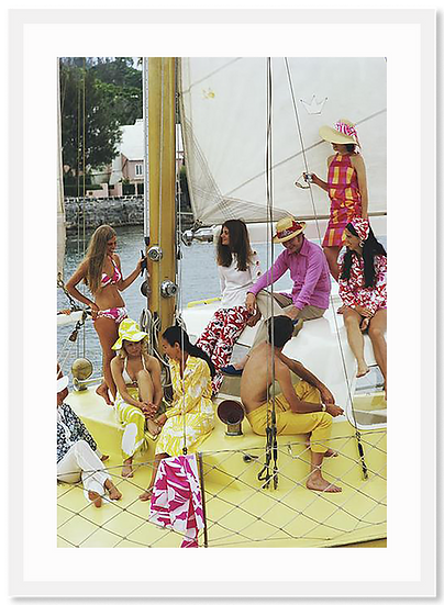SLIM AARONS Colourful Crew