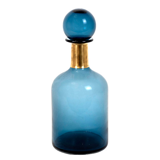 Genie Bottle Tall, Blue