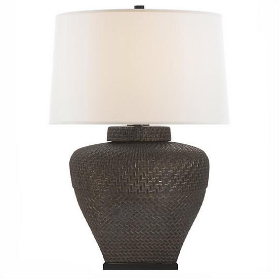 RALPH LAUREN Isla Small Table Lamp, Crystal Bronze
