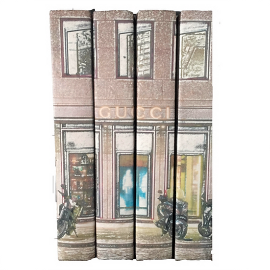 Gucci Shopfront Display Books