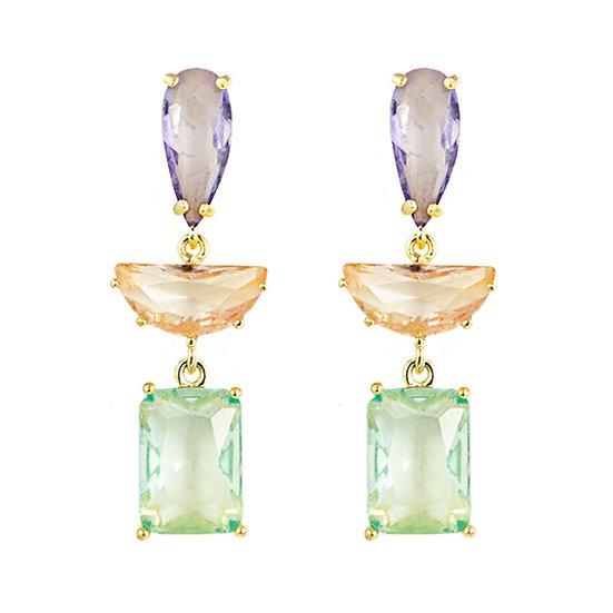 Sherbet Drop Earrings