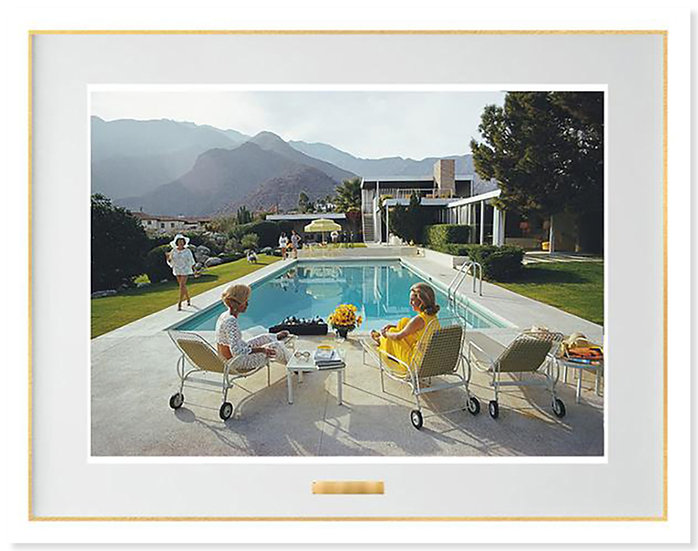 SLIM AARONS Poolside Gossip 50th Anniversary Edition