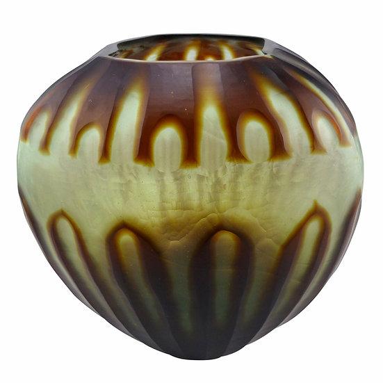 Mint Cocoa Vase/Hurricane Lantern