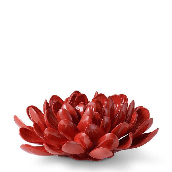 AERIN Dahlia Porcelain Flower, Crimson