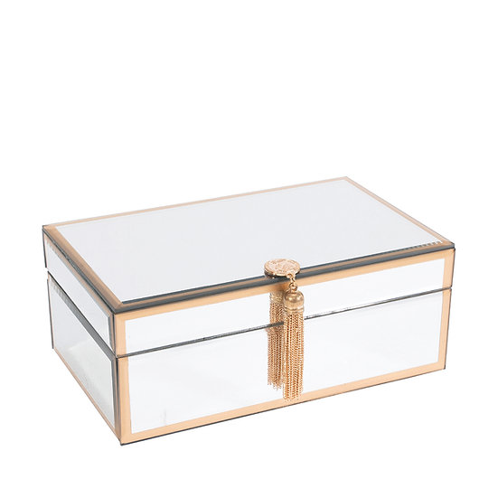 Mirrored Jewellery Box, Small