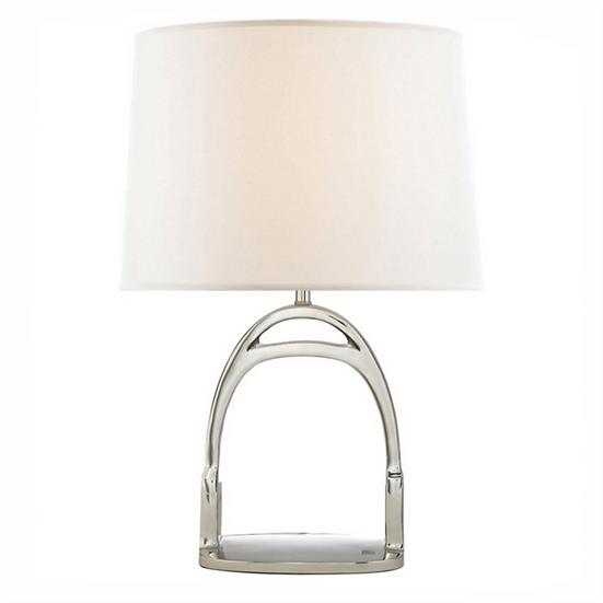 RALPH LAUREN Westbury Table Lamp, Polished Nickel