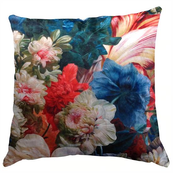 Cushion, Jewel Floral