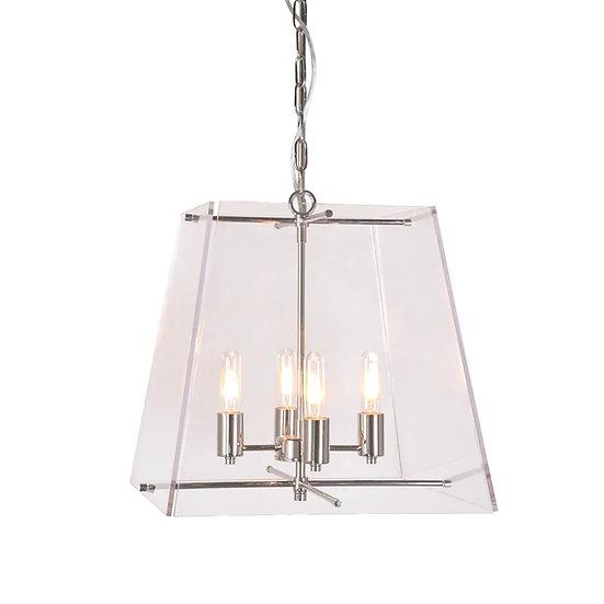 Cornell Hanging Lamp, Nickel