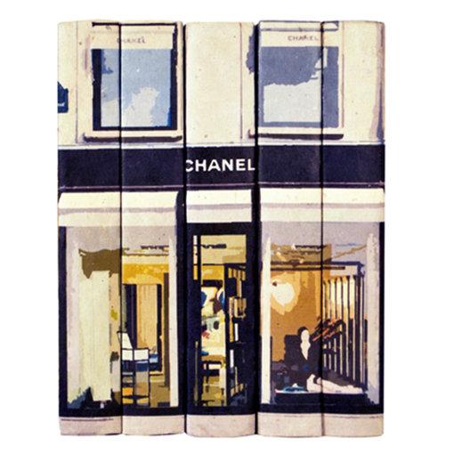 Chanel Shopfront Display Books
