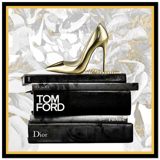 Designer Shoe Framed Print