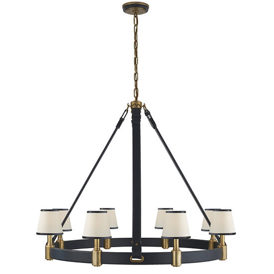 RALPH LAUREN Riley Large Ring Chandelier