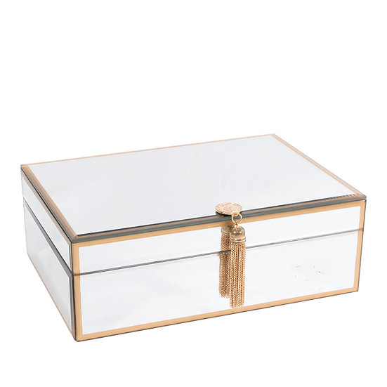 Mirrored Jewellery Box, Large
