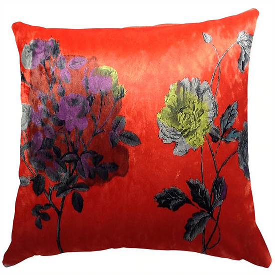 Cushion, Orange Intense