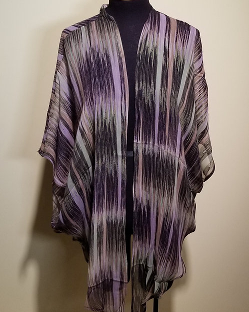 89130257 Silk Jacket with Long Points - Magnetic