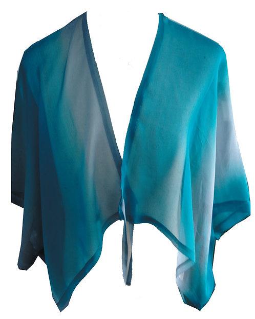 86130272 Silk Jacket with Ties - Ocean View