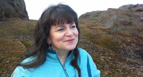 Aviva at Hug Point, Oregon coast