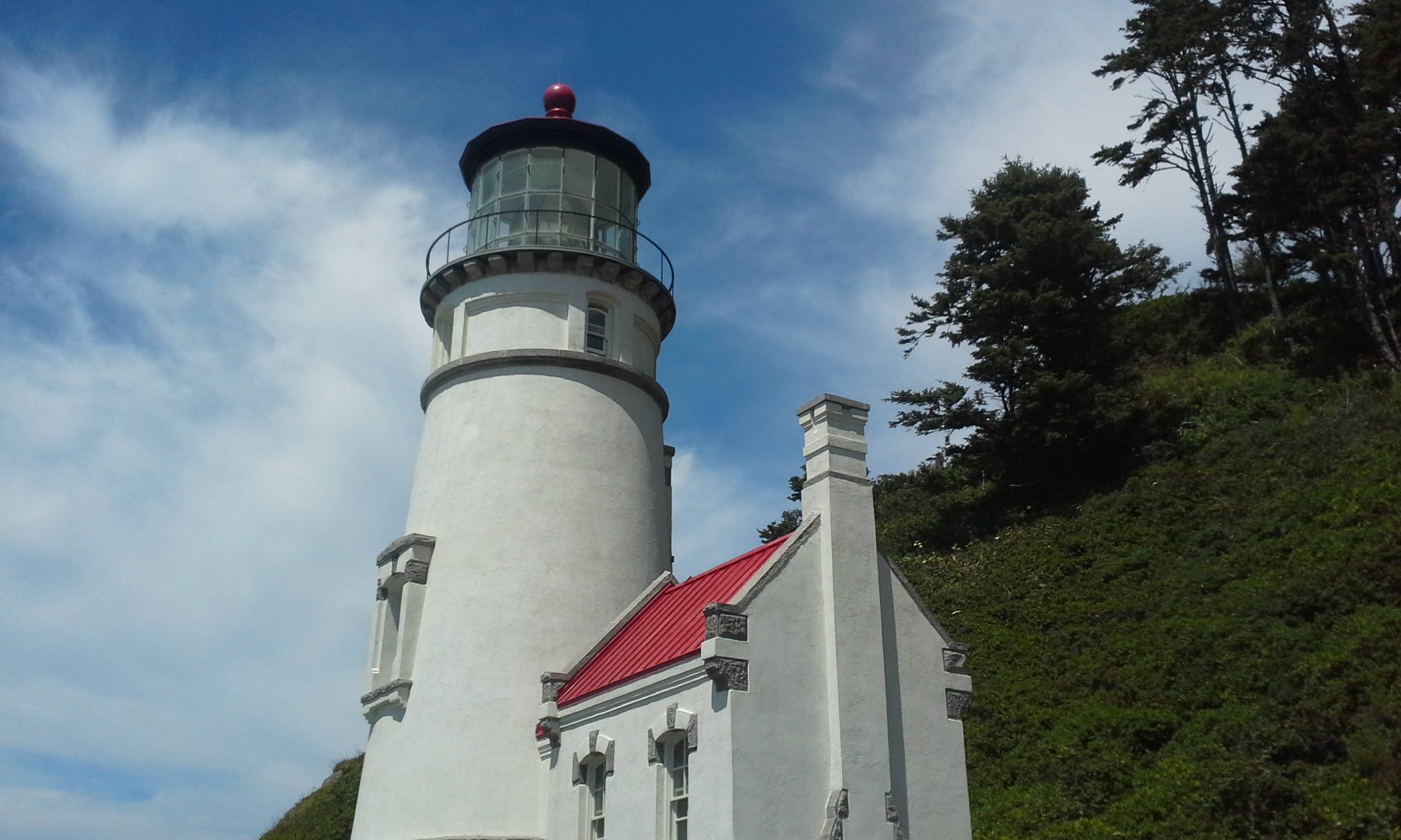 Heceta Head Lighthouse up close