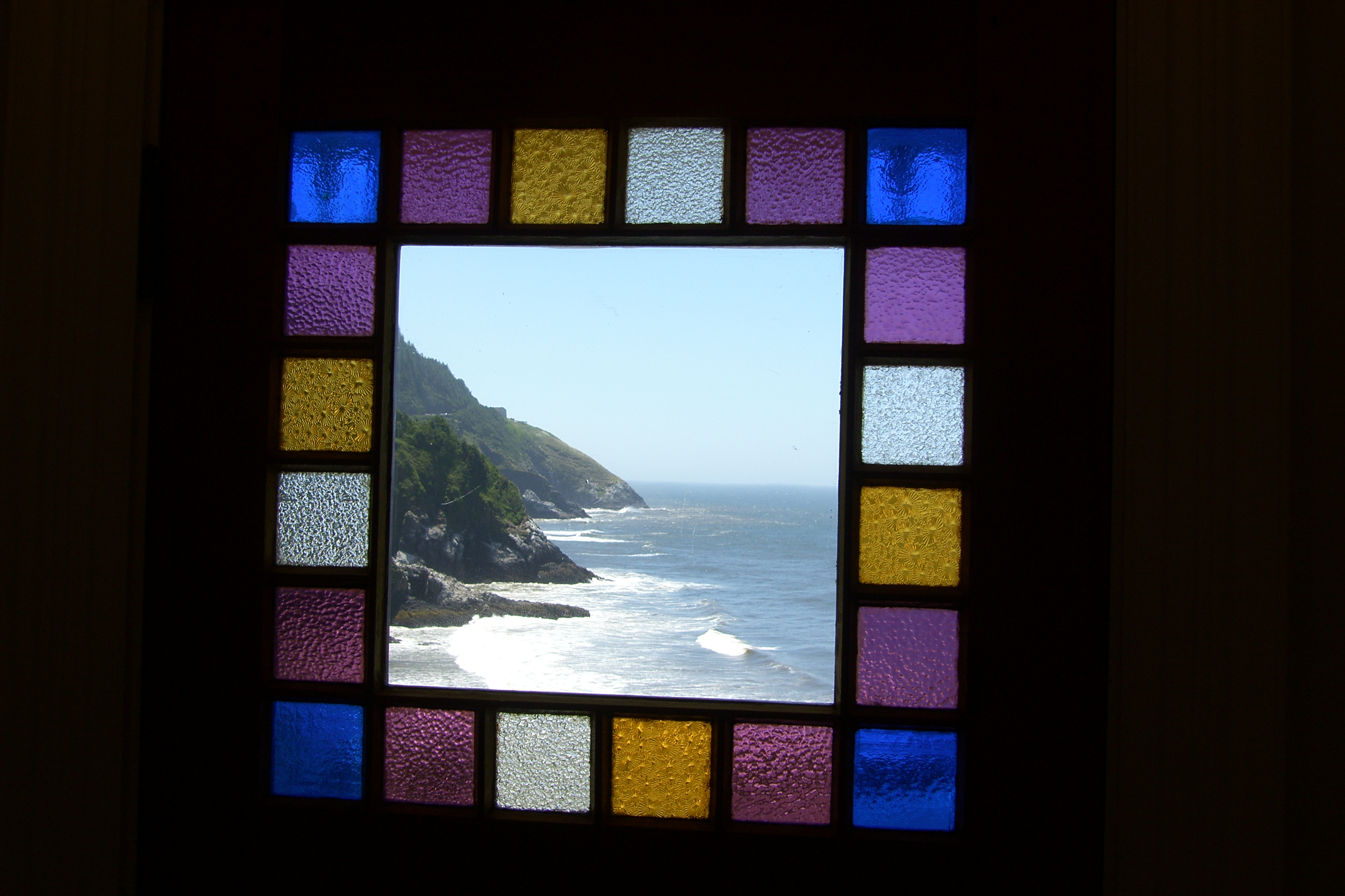 House's Stained Glass Stairway
