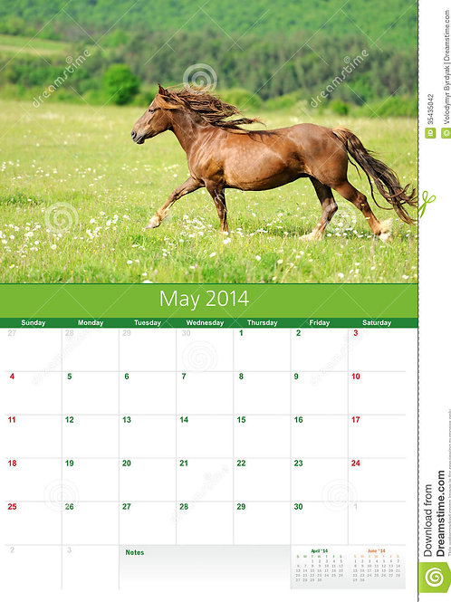 Your personalized calendar