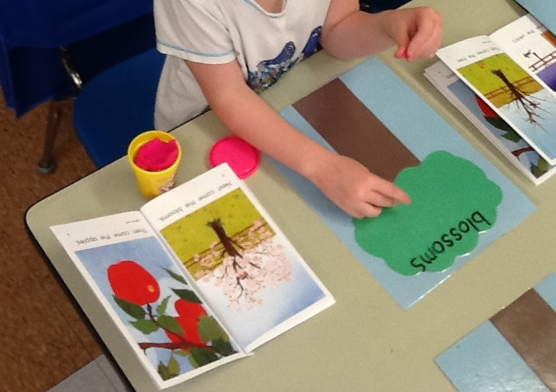 Play Dough and text