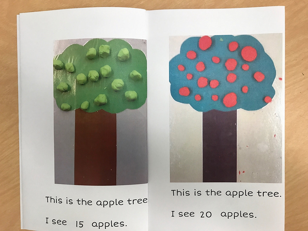 Apple Counting Sample Book