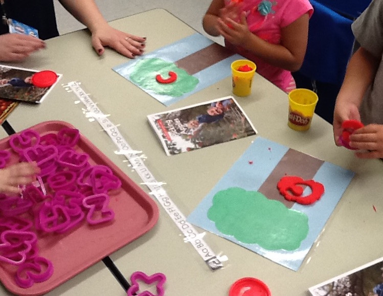 Play Dough and Guided Reading