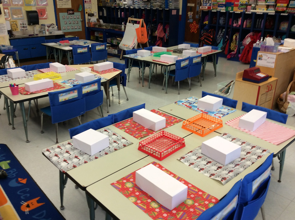Classroom preparation for wrapping