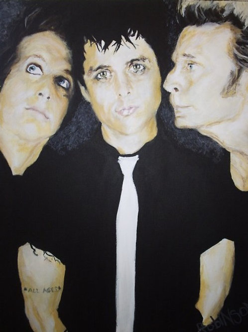 Greenday canvas