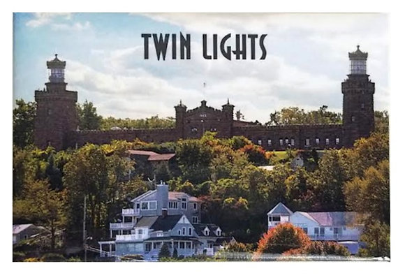 Twin Lights Magnet