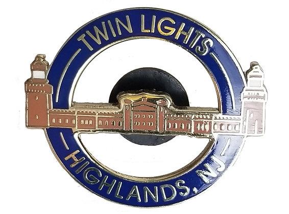 Twin Lights Lapel Pin
