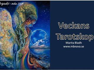 Veckans Tarotskop - Så blir vecka 24 enligt mina Tarotkort 210614