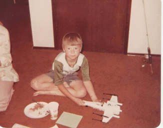 Me in 1978, my first X-Wing toy!