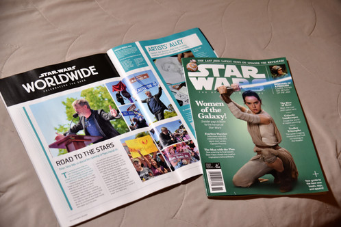 Published in Star Wars Insider Magazine