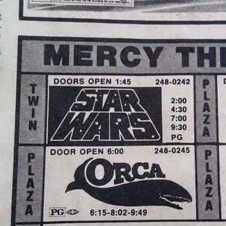 I saw Star Wars at the Mercy Theaters Yakima Summer of 1977