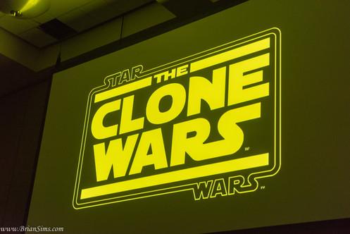 10th Anniversary Clone Wars panel at San Diego Comic-Con
