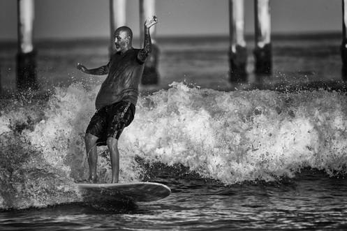 Ocean Beach Surfing